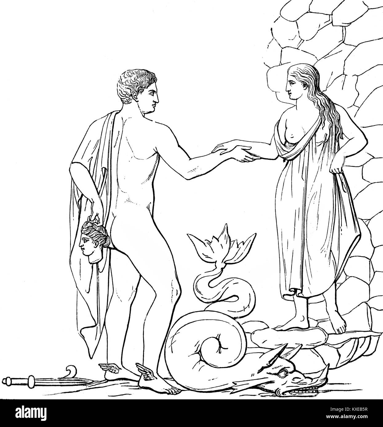 andromeda greek myth