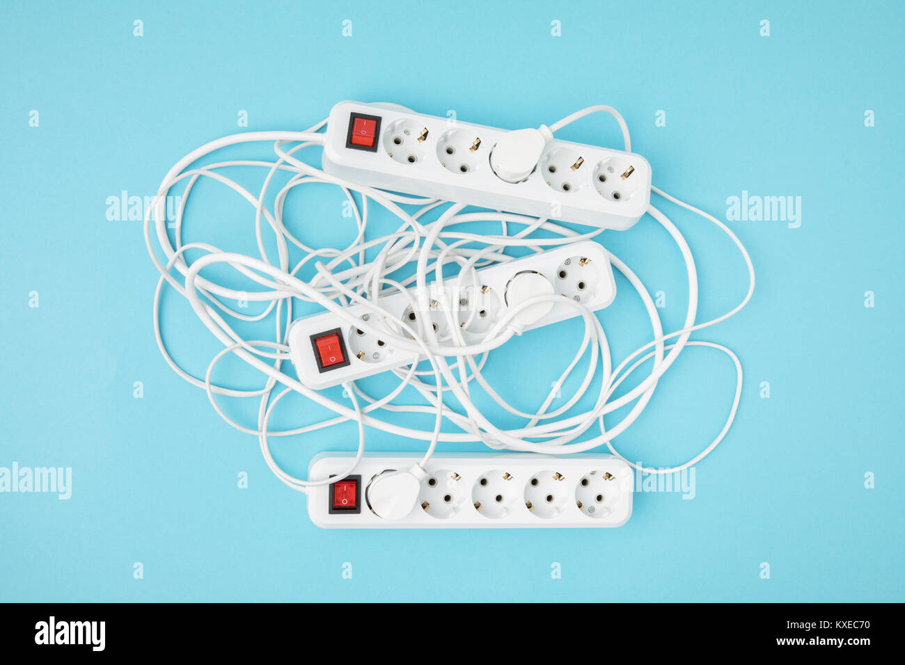 Extension Cords Stock Photos & Extension Cords Stock Images - Alamy
