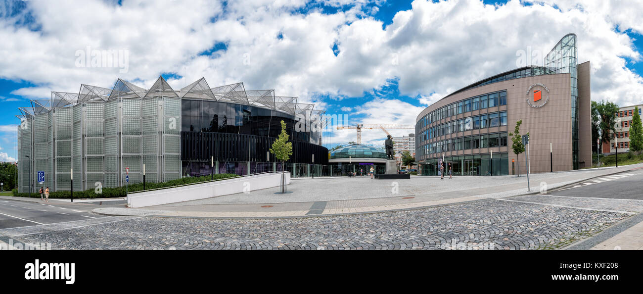 Tomas Bata University in Zlín (TBU) - Stock Image