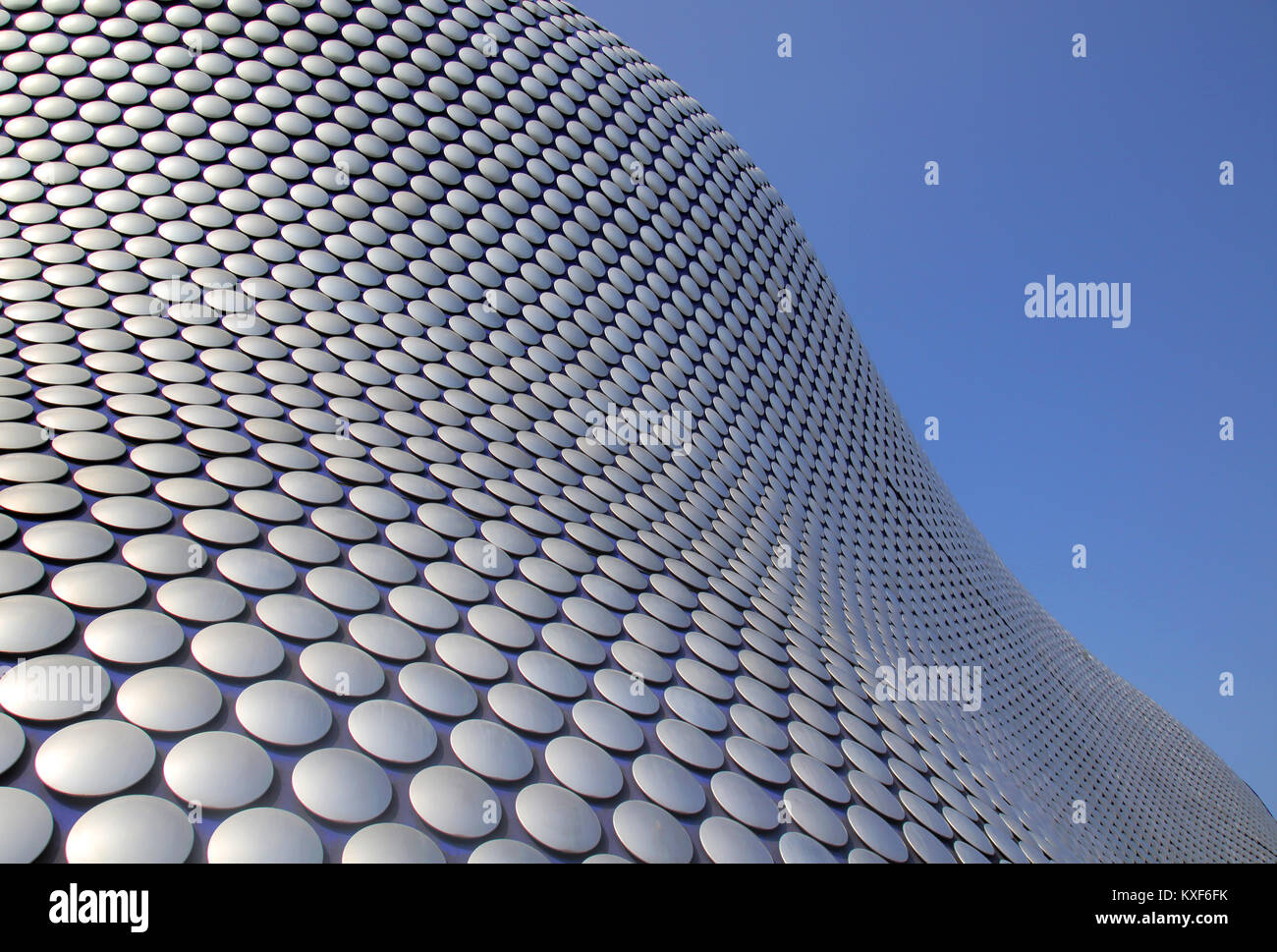 95542beb3a55e the famous roof at selfridges store in the bull ring birmingham - Stock  Image