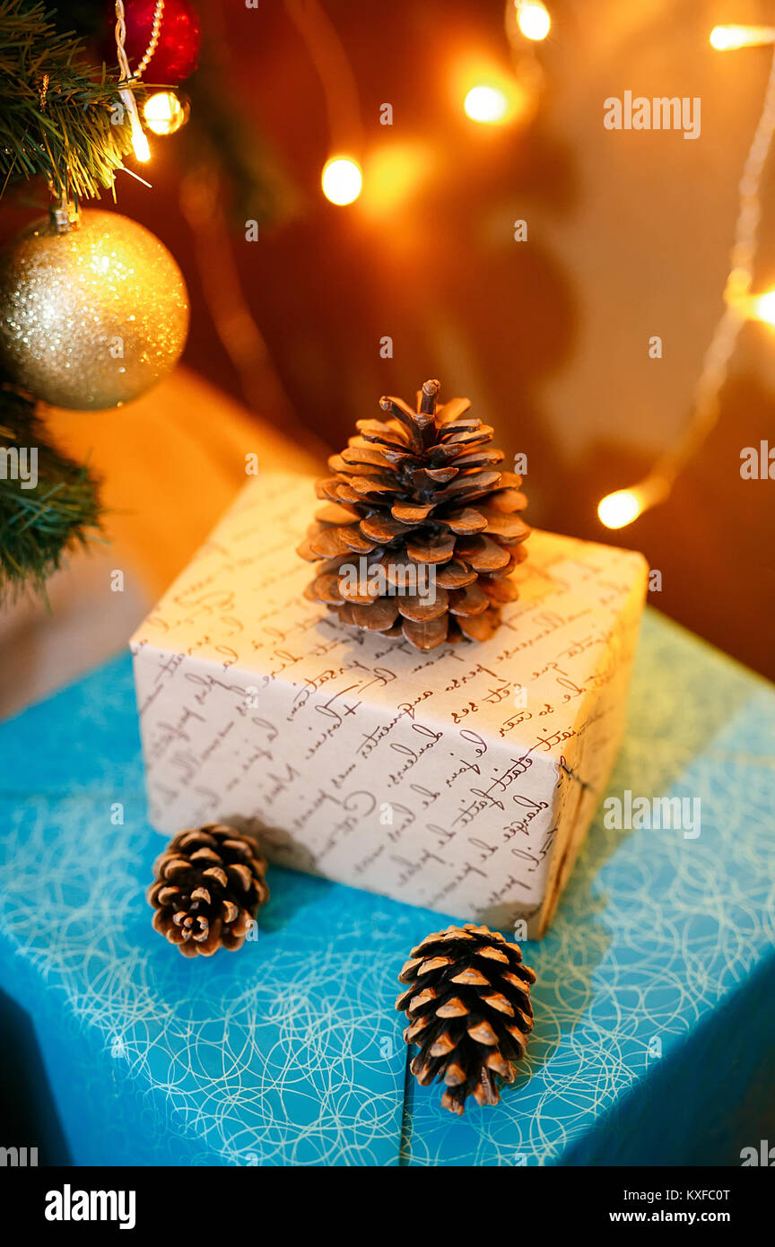 christmas stuff. shot made with shalow depth of field. selective - Stock Image
