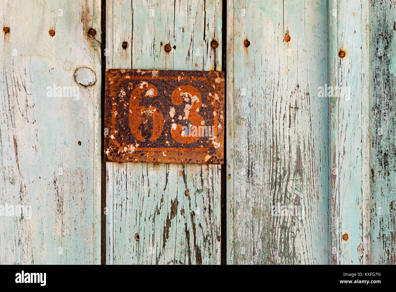 House Number Plaque Stock Photos House Number Plaque Stock Images