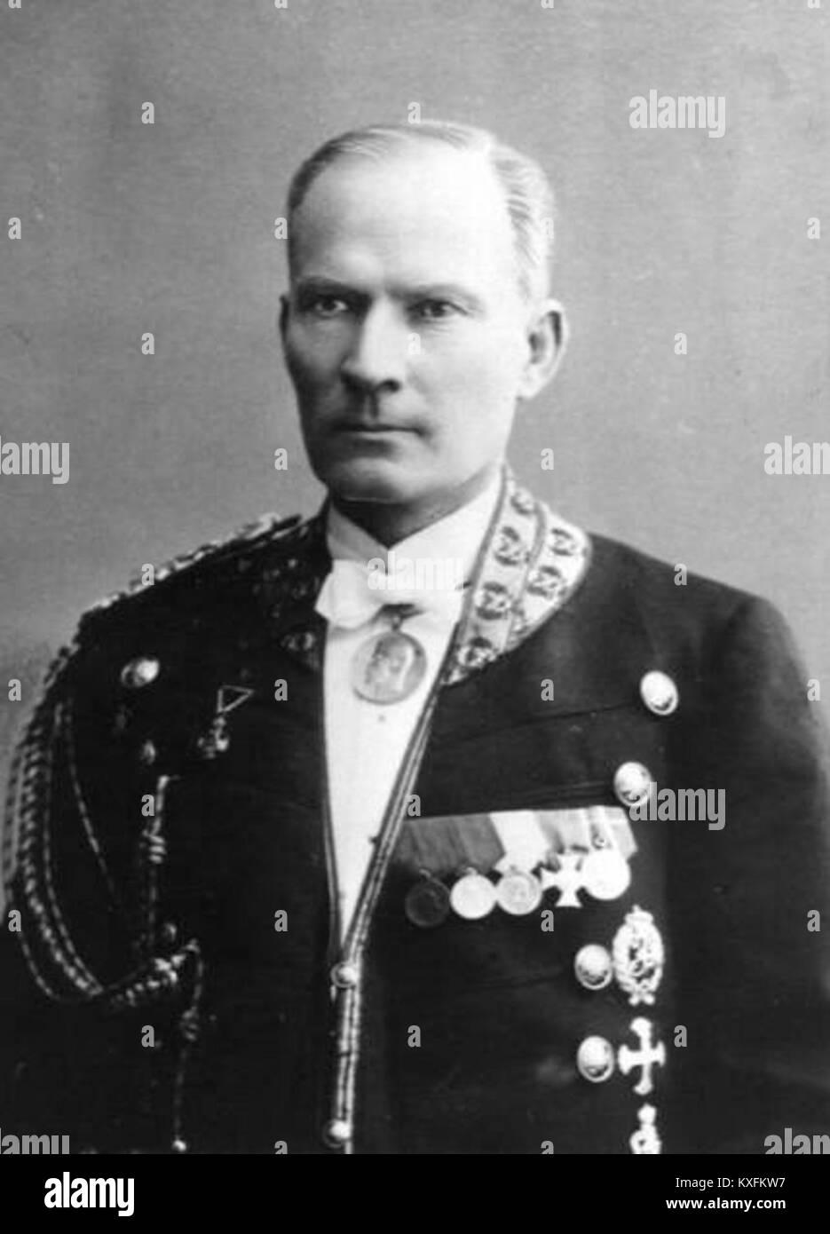 Aloise (Alexei) Yegorovich Trupp - Stock Image