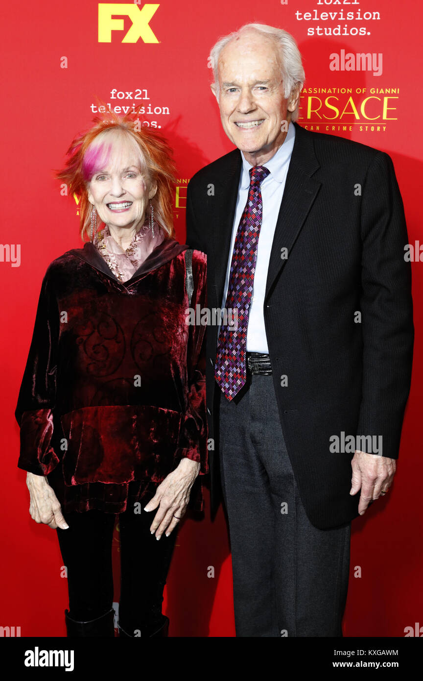 Hollywood California 8th Jan 2018 Shelley Fabares And Mike Stock