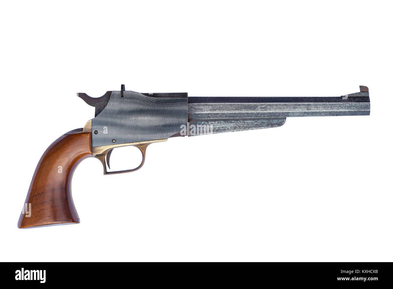 black powder muzzle loader pistol Stock Photo: 171257699 - Alamy