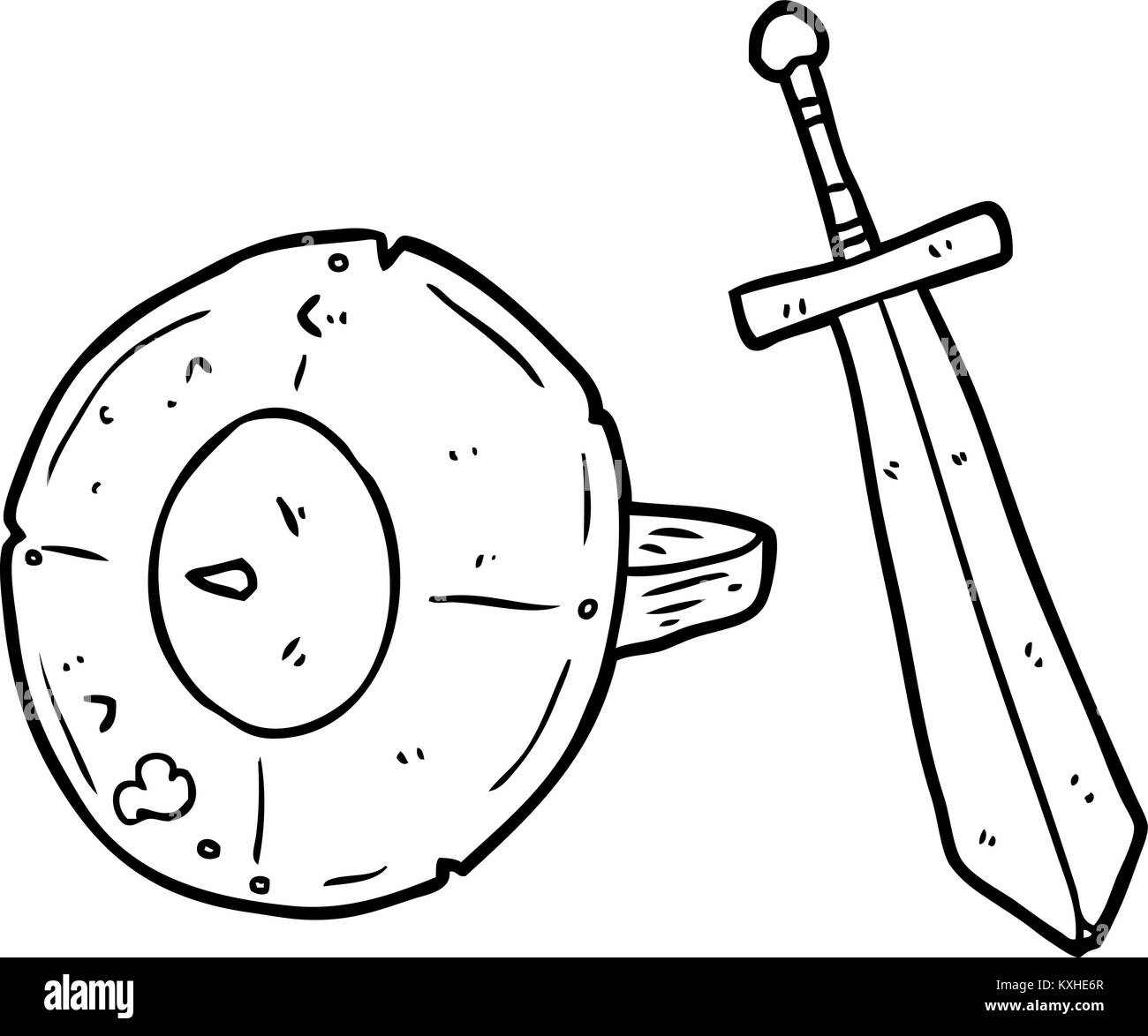 Roman Gladiator Drawing Stock Photos Roman Gladiator Drawing Stock