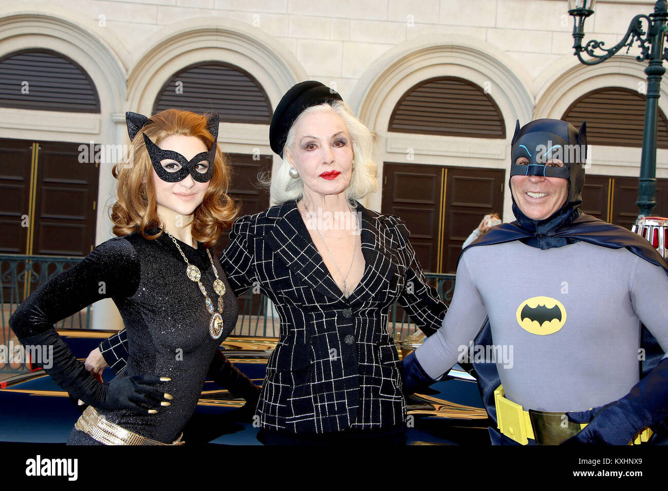 The Animazing Gallery celebrates its grand opening with special host the original Catwoman Julie Newmar at the Animazing Gallery Grand Canal Shoppes ...  sc 1 st  Alamy & The Animazing Gallery celebrates its grand opening with special host ...