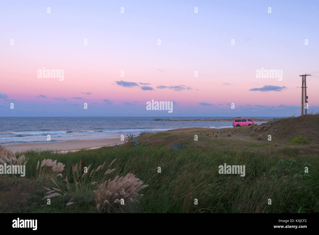 Punta del Diablo, Uruguay Stock Photo