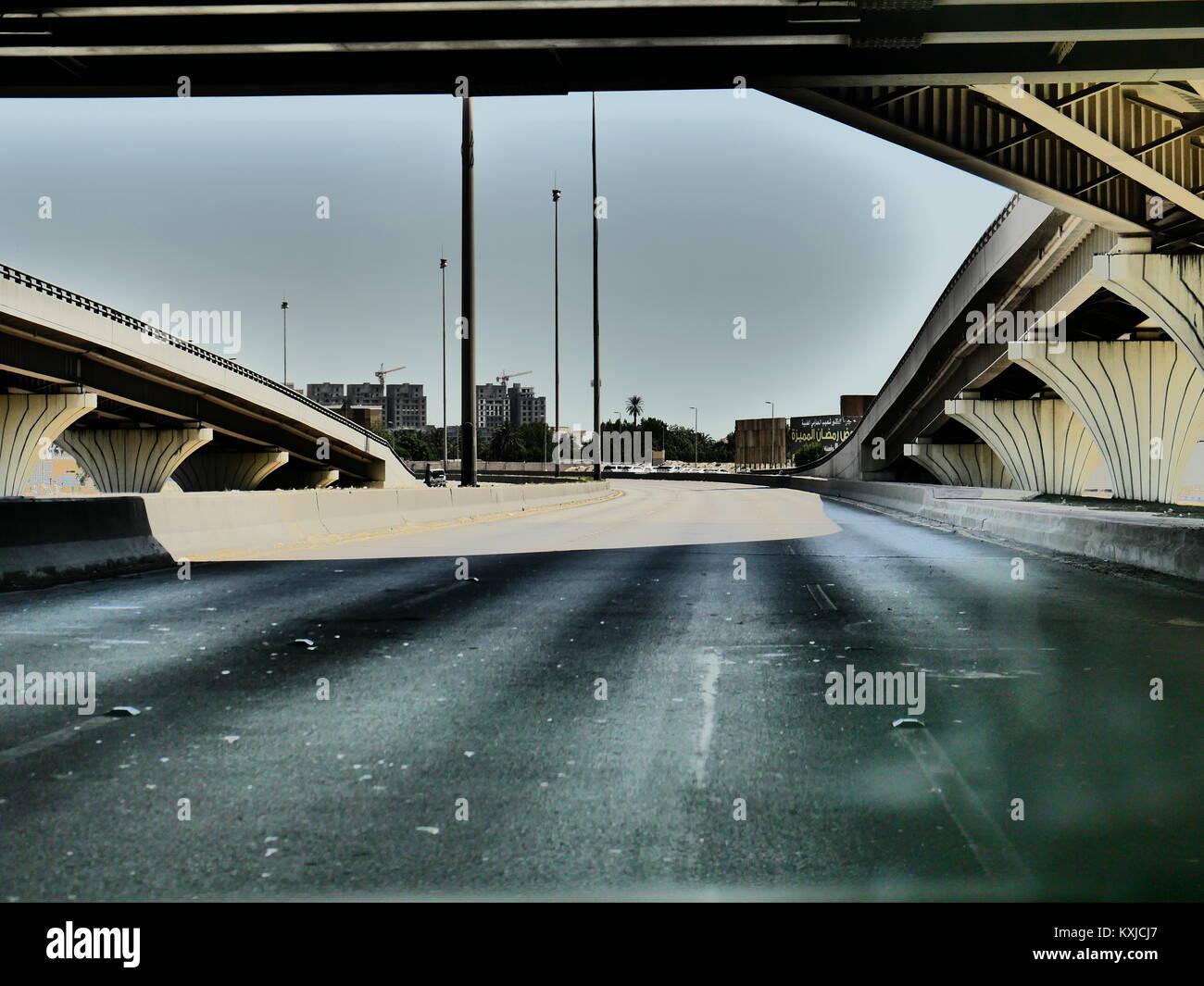Al Khobar City Images in Saudi Arabia - Stock Image
