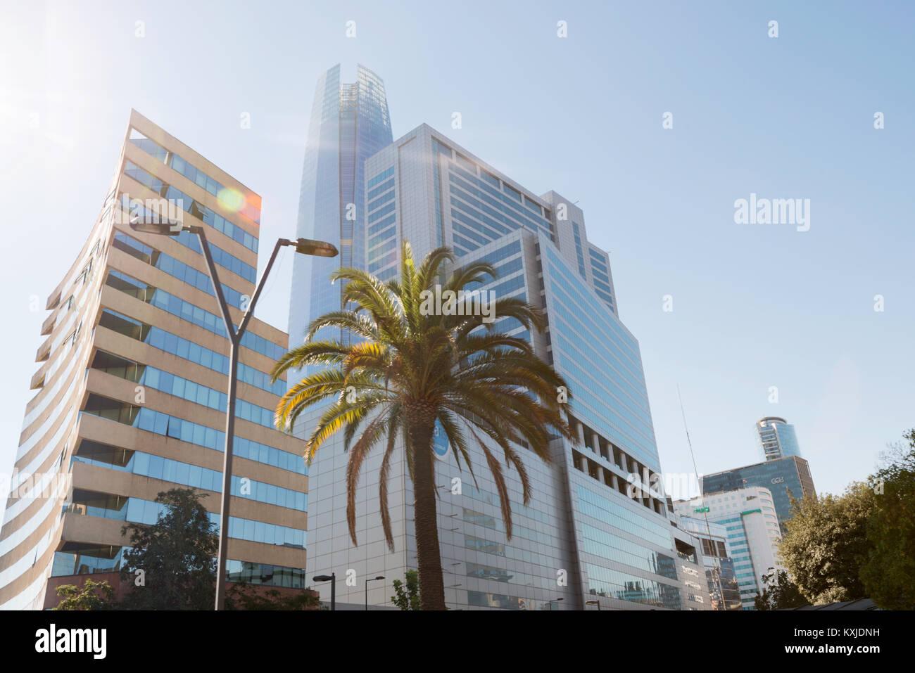 architecture of Santiago de Chile, Chile Stock Photo