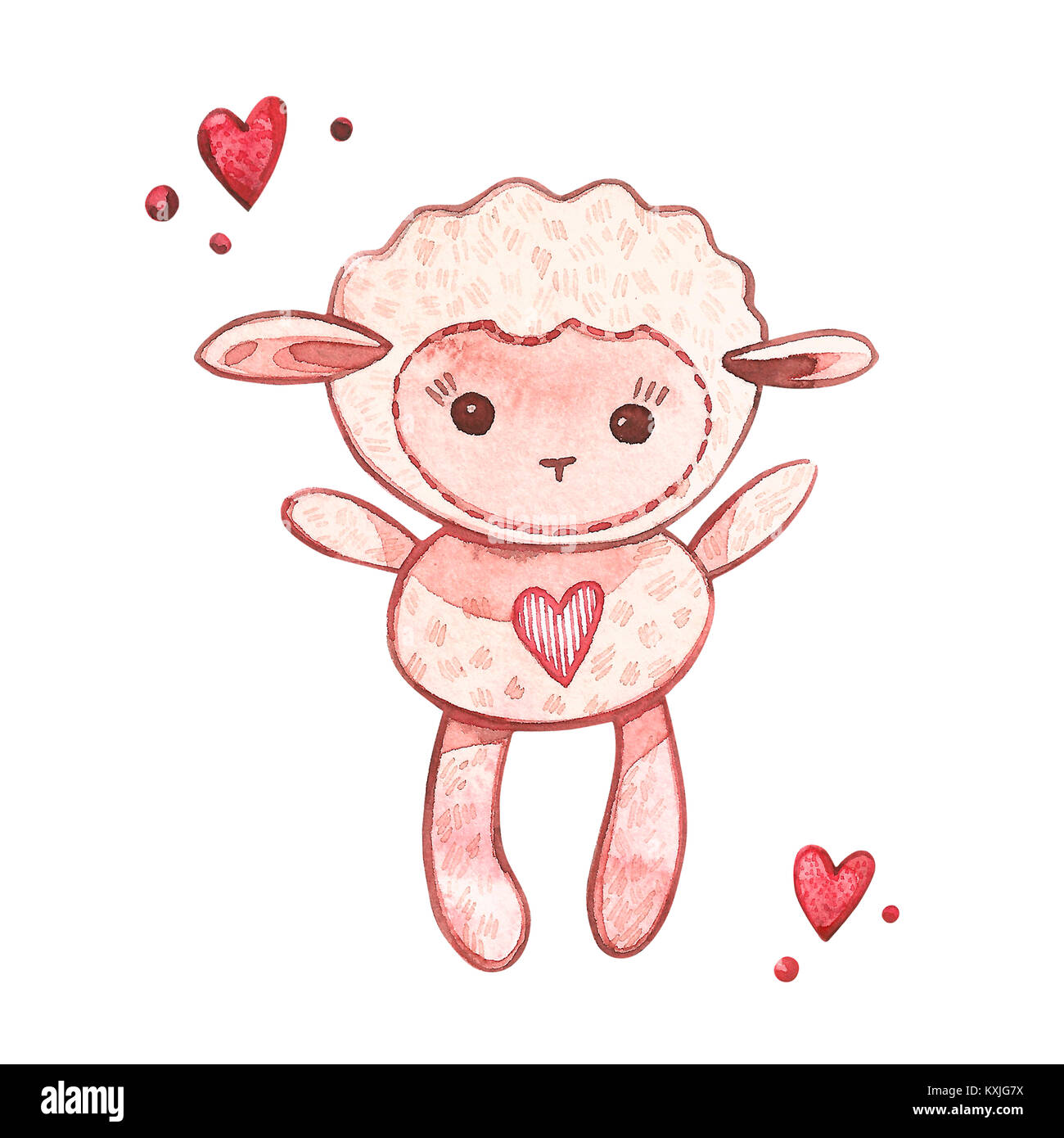 Baby Lamb Cut Out Stock Images & Pictures - Alamy