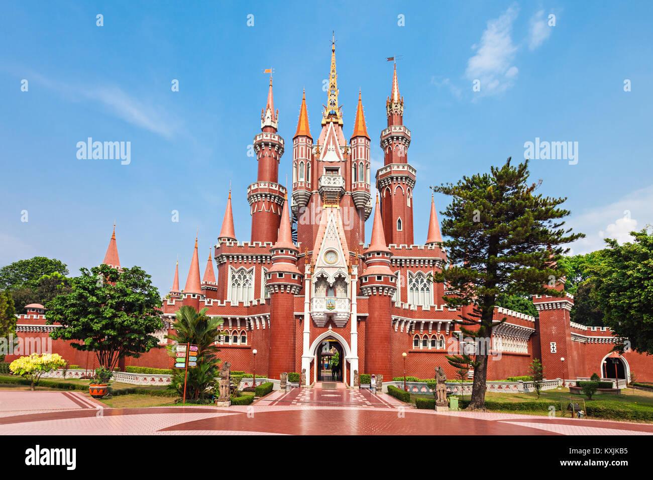 JAKARTA, INDONESIA - OCTOBER 20, 2014: Istana Anak Anak Playcentre in Taman Mini Indonesia Park. - Stock Image