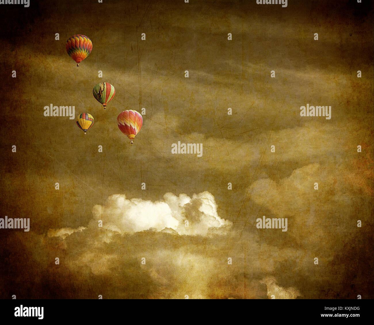 DIGITAL ART: Fly Me - Stock Image