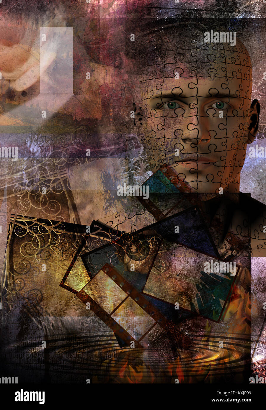 Puzzle Pattern Stock Photos & Puzzle Pattern Stock Images - Alamy