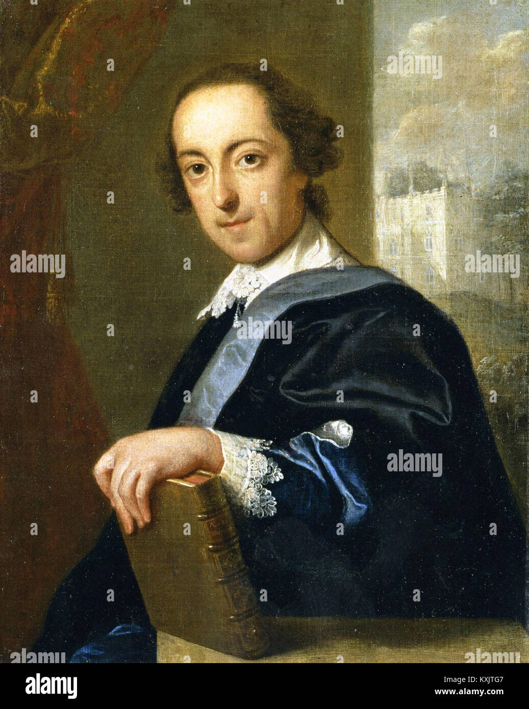 Horace Walpole, circa 1755. Horatio Walpole, 4th Earl of Orford, Horace Walpole - Stock Image