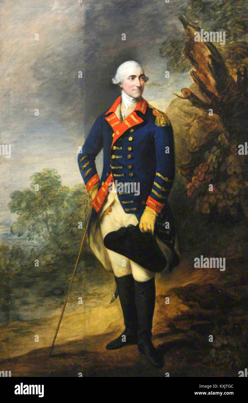 Henry Seymour Conway, Field Marshal Henry Seymour Conway, British general and statesman - Stock Image