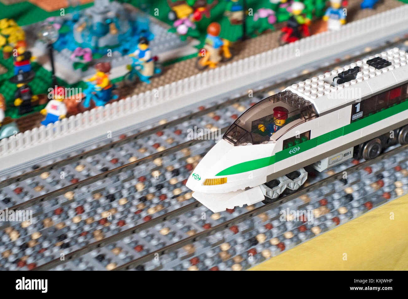 Lego Train Set Stock Photos Lego Train Set Stock Images Alamy