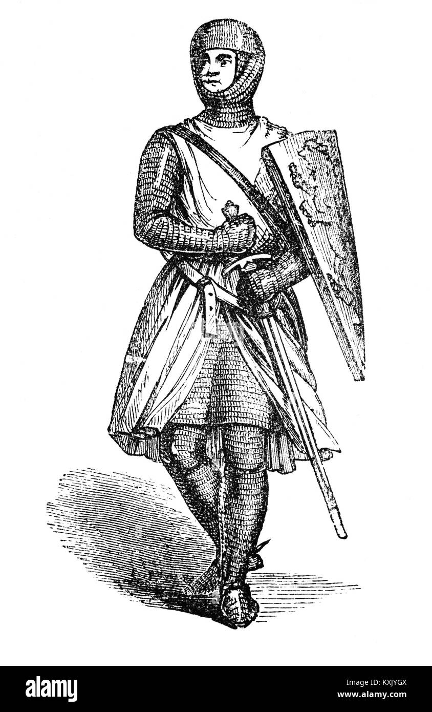 William Longespée (1176 - 1226), 3rd Earl of Salisbury  was an Anglo-Norman nobleman, primarily remembered - Stock Image