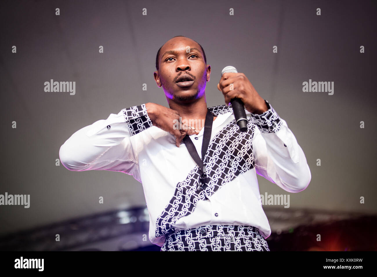 The Nigerian musician and saxophonist Seun Kuti (pictured