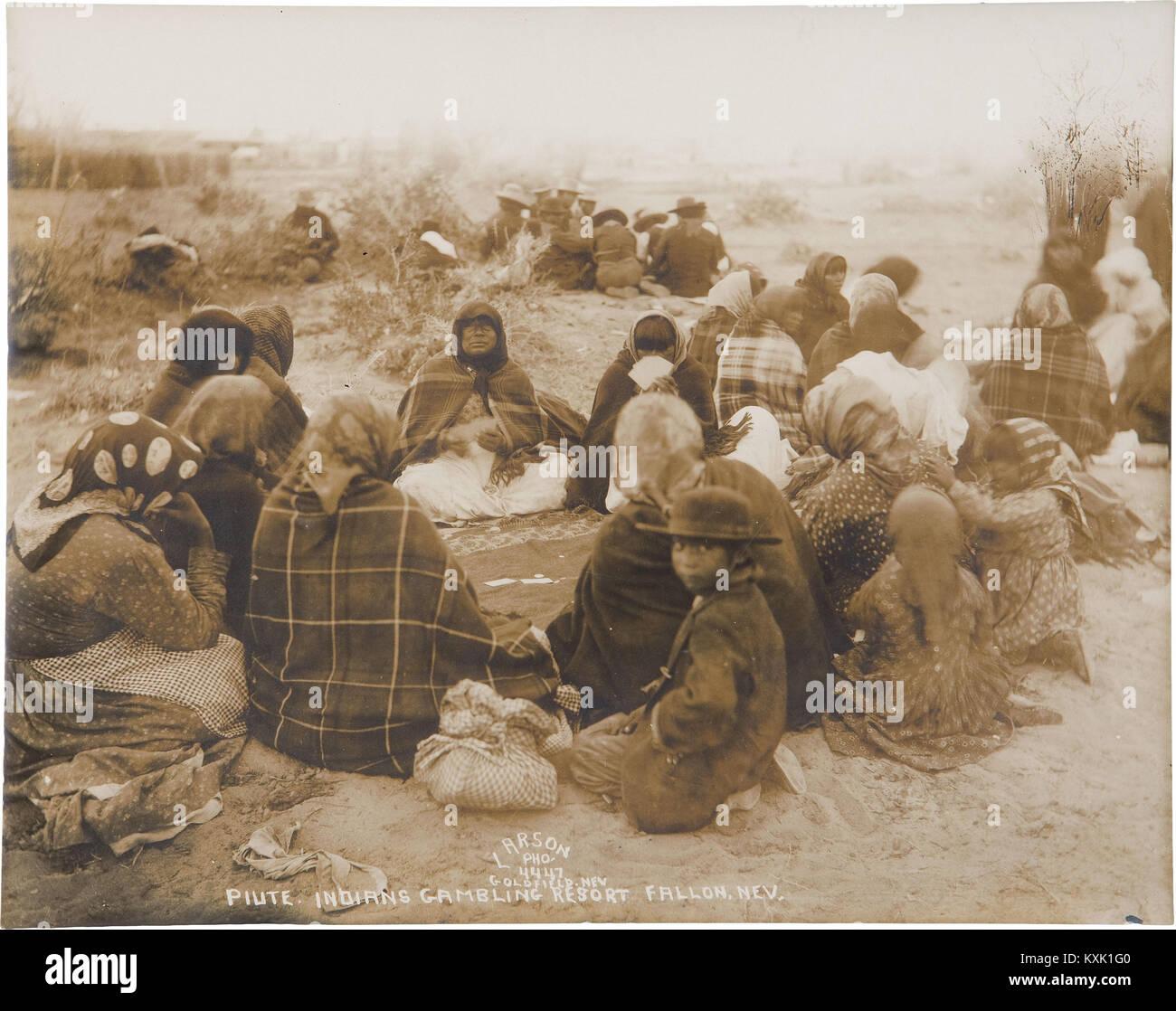 Piute Indians Gambling Resort - Stock Image
