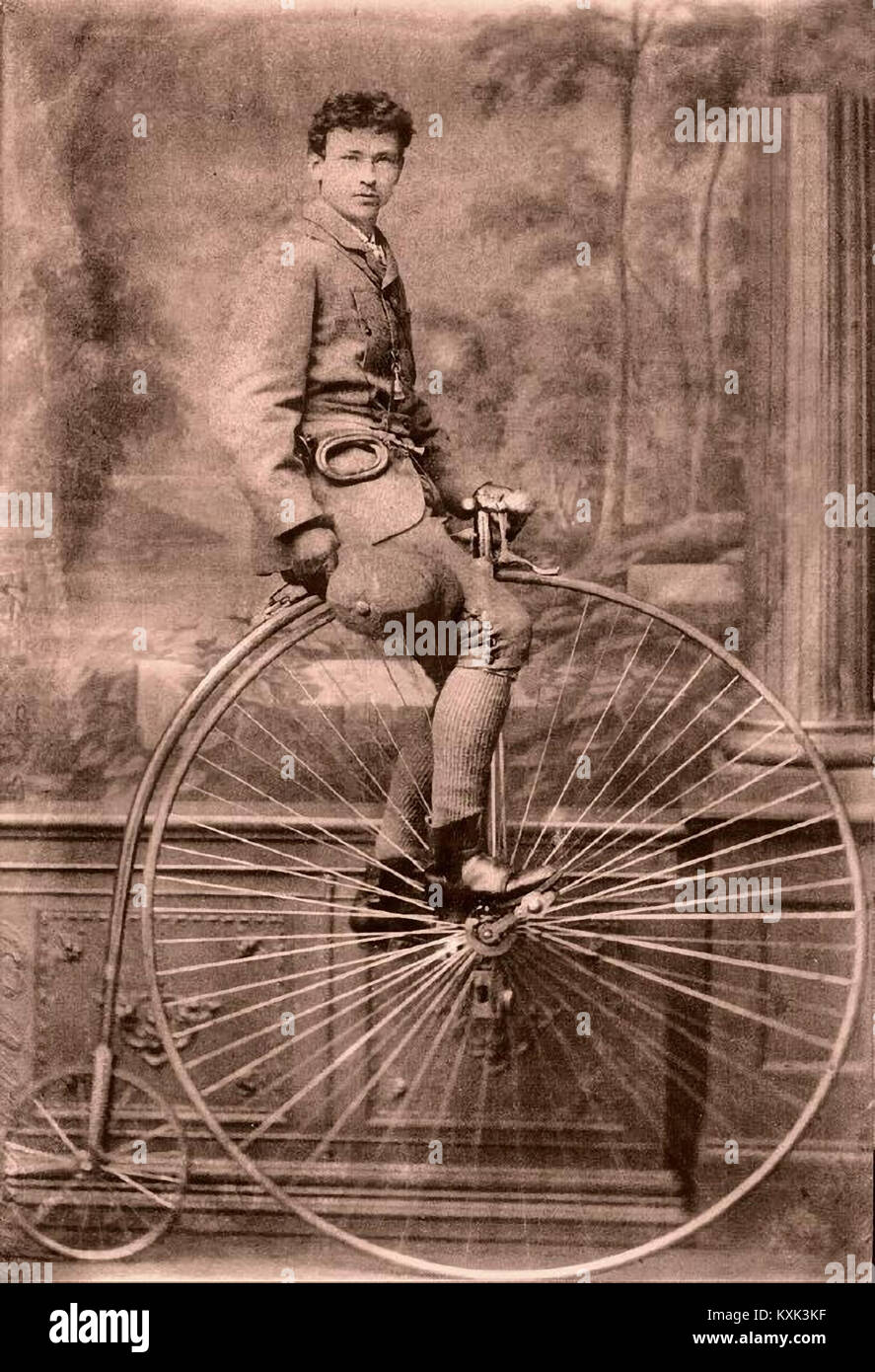 Penny Farthing Bicycle - Stock Image