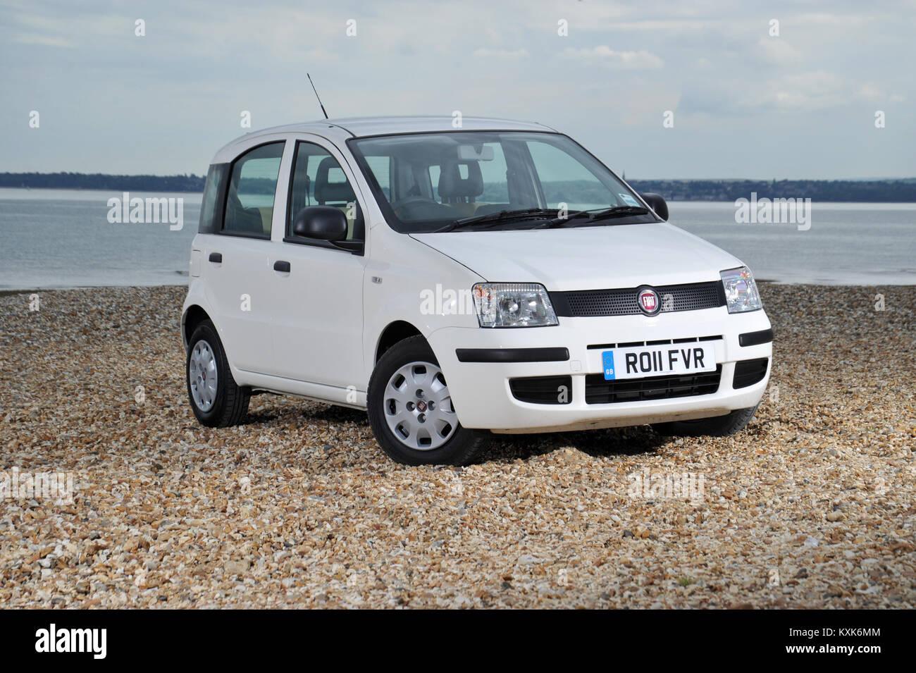 2011 Fiat Panda small Italian car - Stock Image