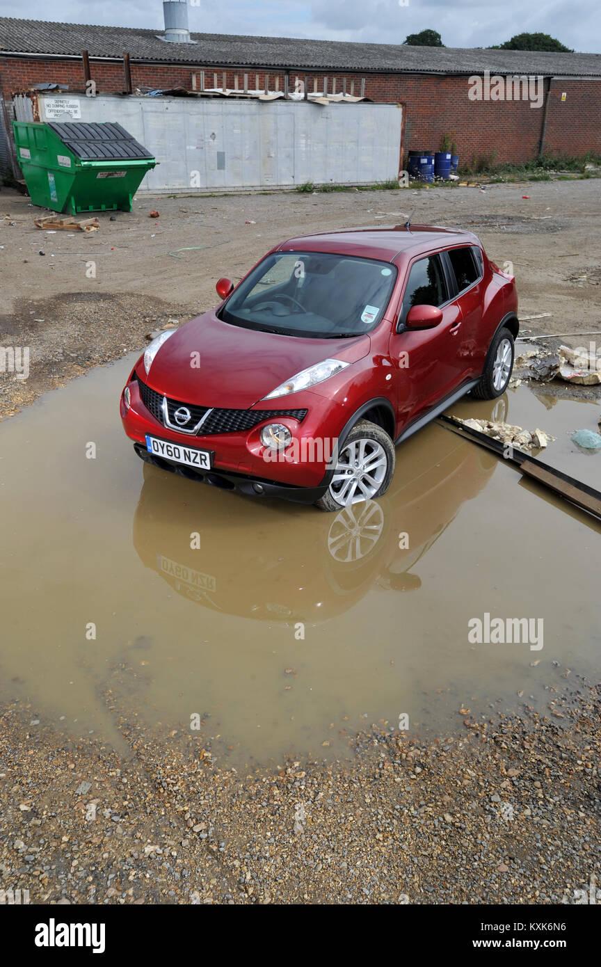 2011 Nissan Juke Small SUV Car, Built In Britain   Stock Image