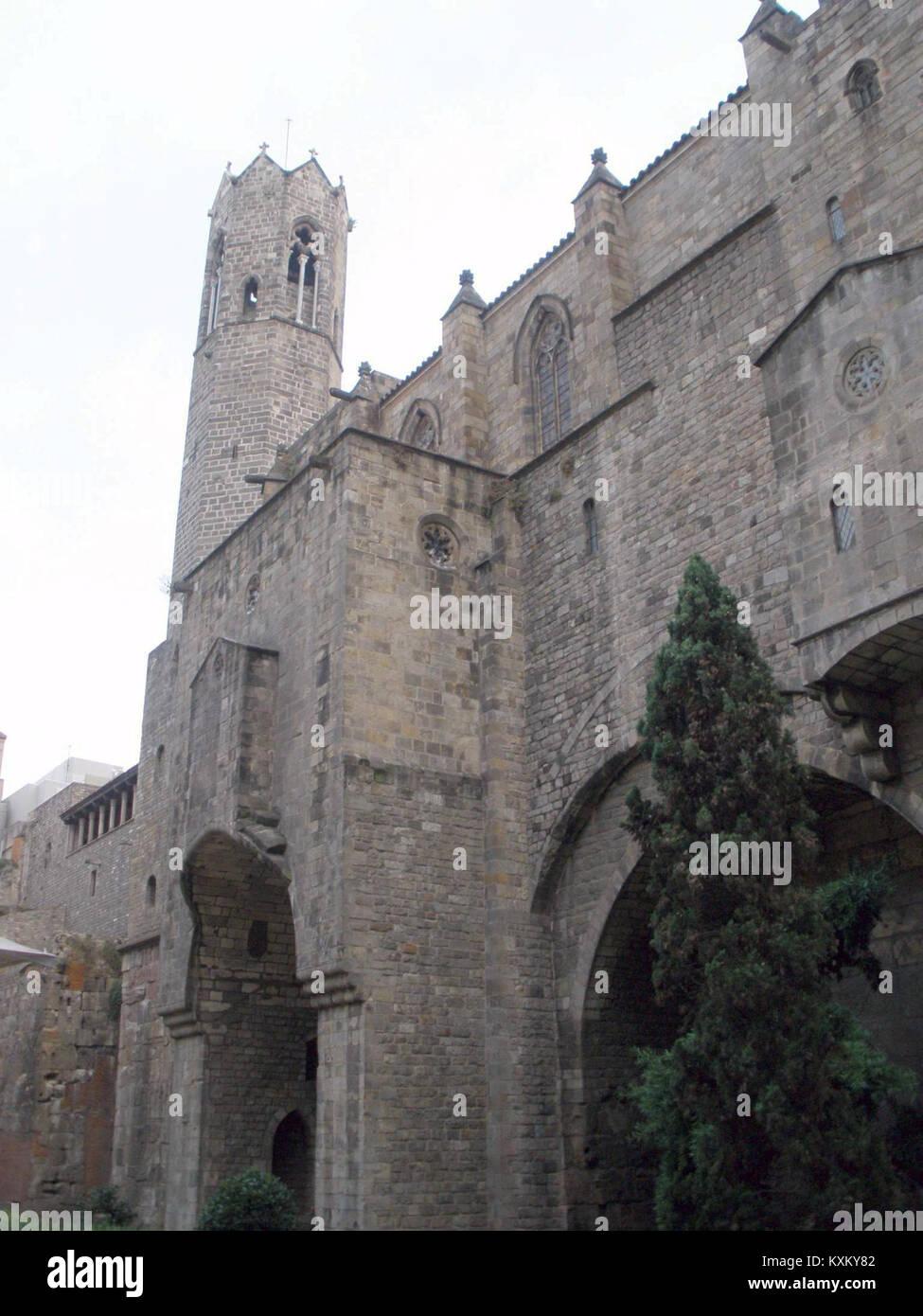 Barcelona - Palau Reial Major, Capella de Santa Àgata 01 - Stock Image