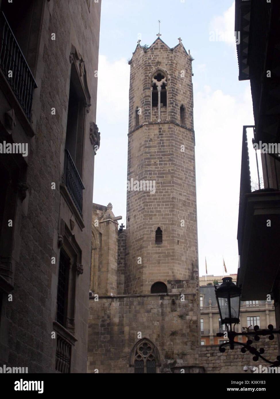 Barcelona - Palau Reial Major, Capella de Santa Àgata 02 - Stock Image