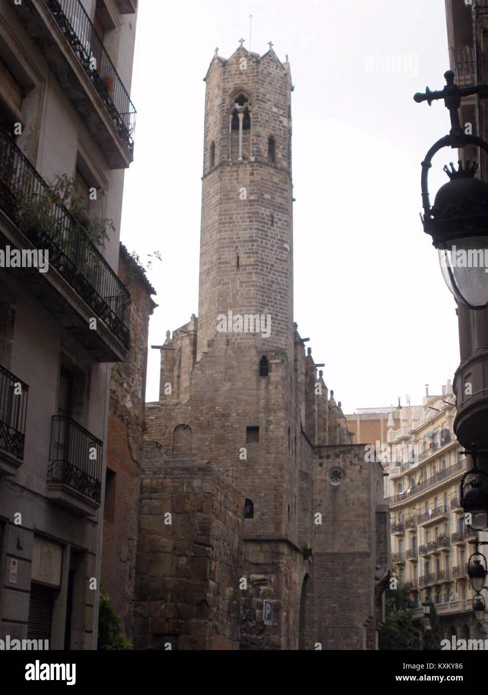 Barcelona - Palau Reial Major, Capella de Santa Àgata 04 - Stock Image