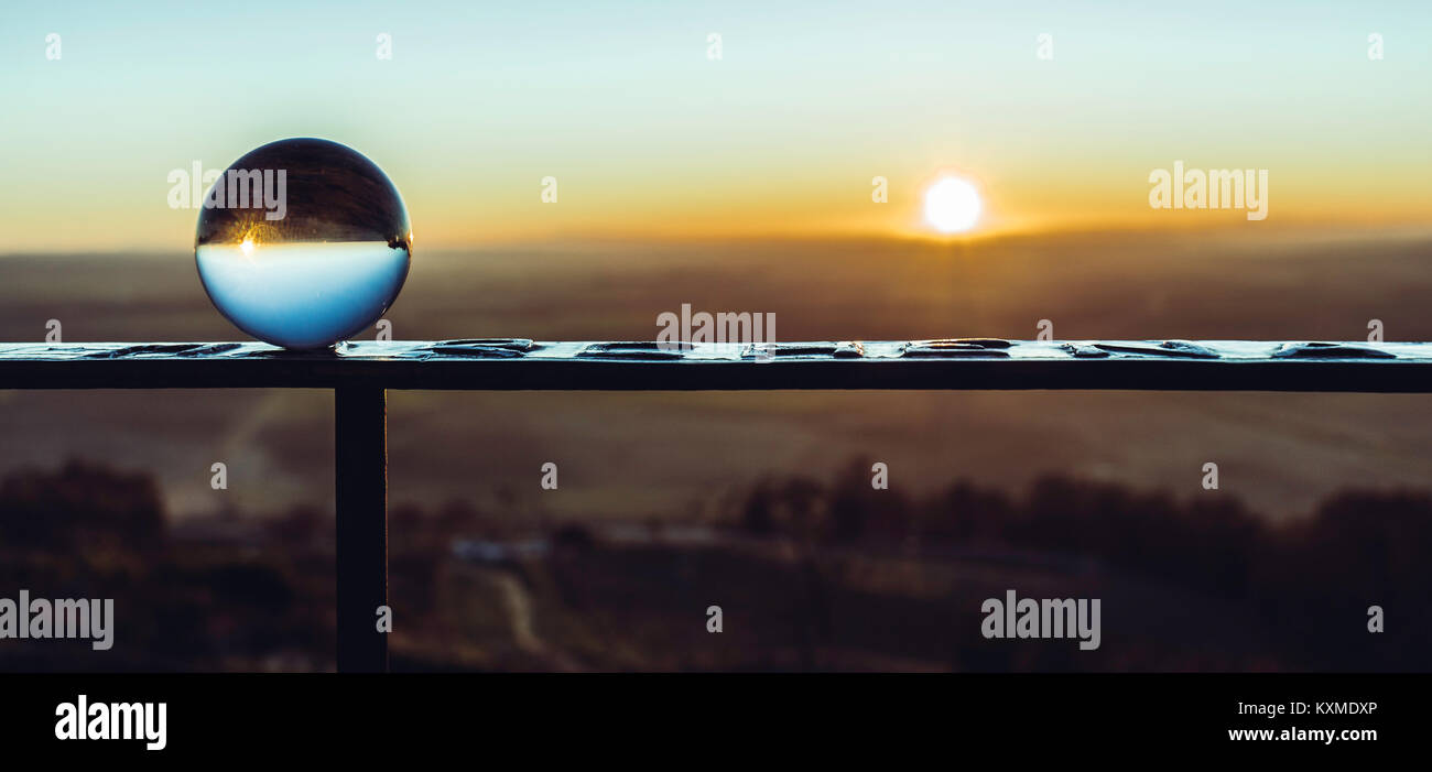 Dawning in the world - Stock Image