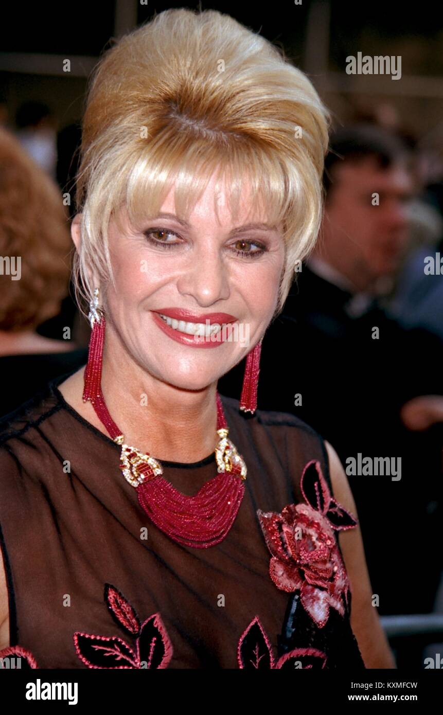 Ivana Trump Attends the Opening Night Revival of 42nd Street the Musical Fords Center Theater, NYC 5/2/2001 RTMcbride - Stock Image