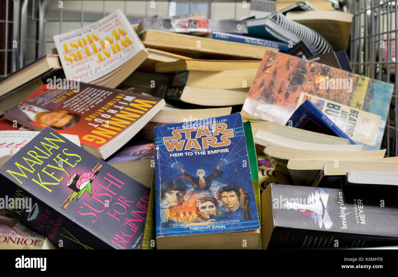 Star Wars Rise To The Empire Book With Library Collection Stock Photo Alamy