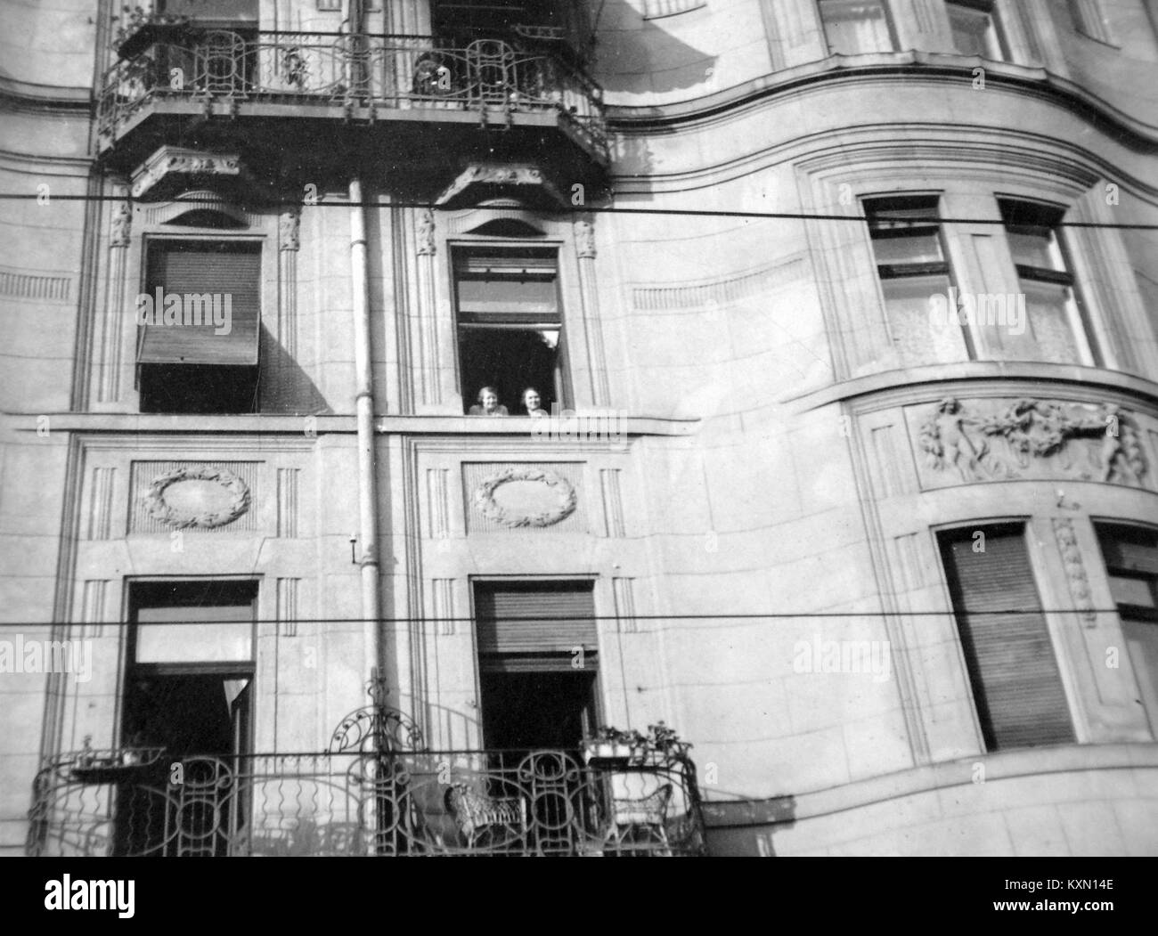 Bethlen Gábor utca 29. sz. épület a Marek József utca sarkán. Fortepan 4153 - Stock Image