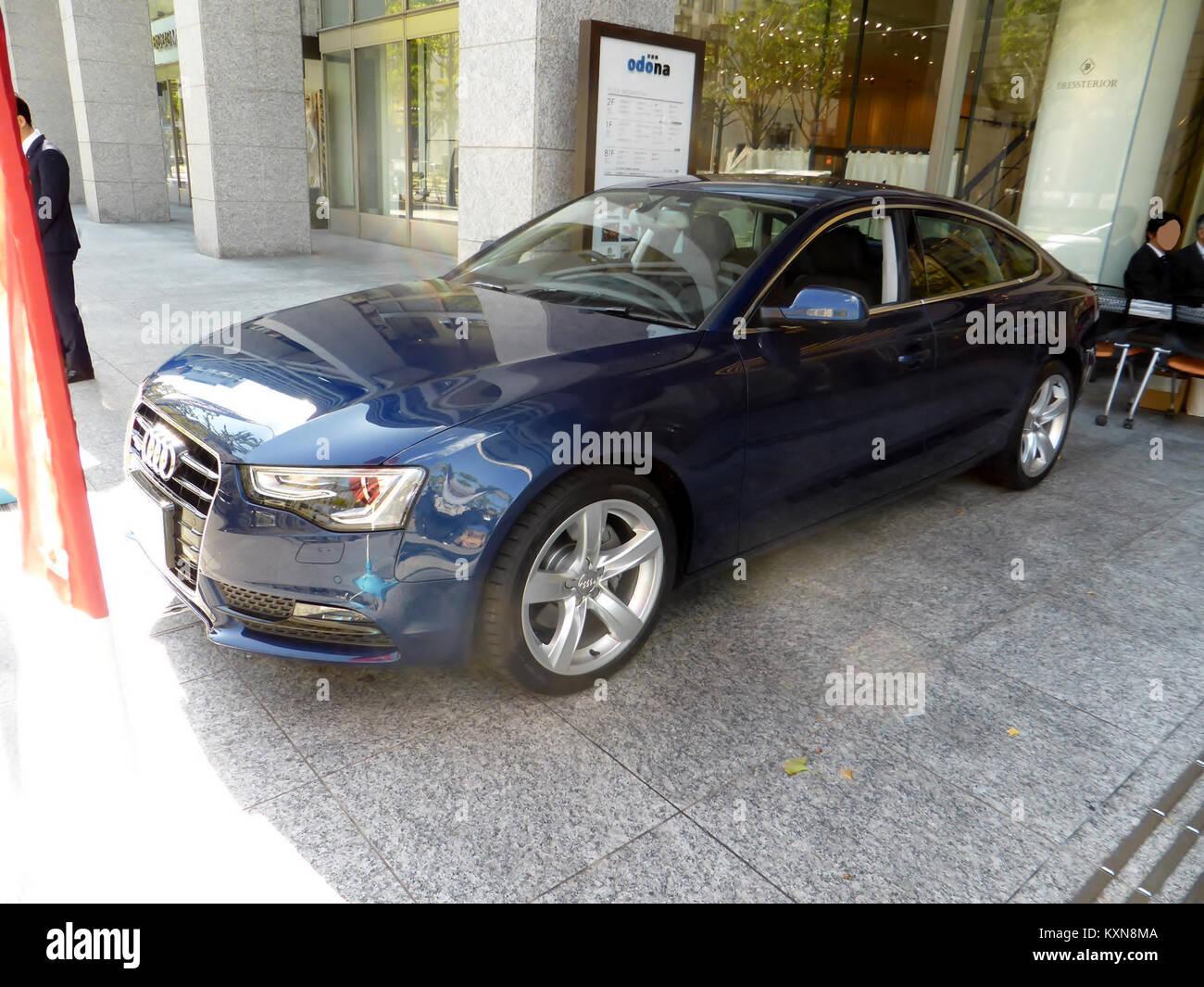 Audi A5 Sportback Stock Photos Amp Audi A5 Sportback Stock Images Alamy