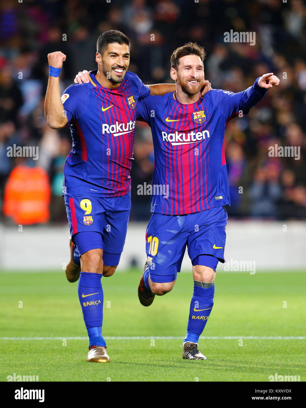 Messi And Suarez High Resolution Stock Photography And Images Alamy