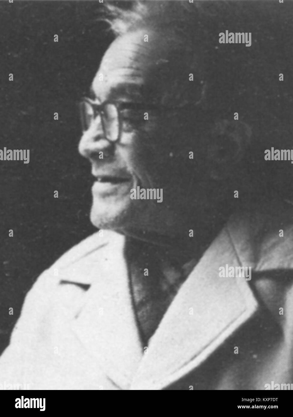 Chandra man singh maskey (1900-1984) - Stock Image