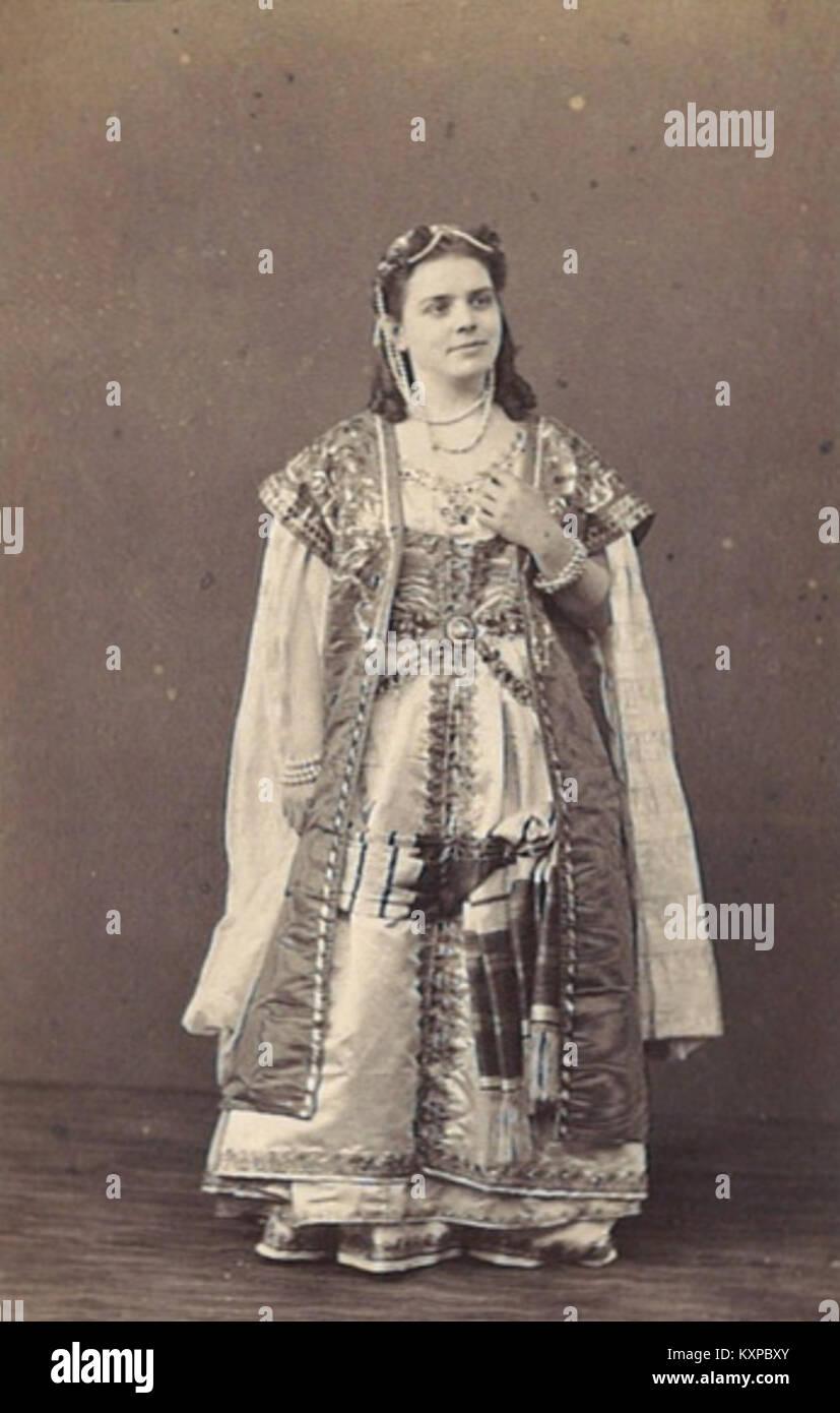 Célestine Galli-Marié als Kaled in Lara 01 - Stock Image