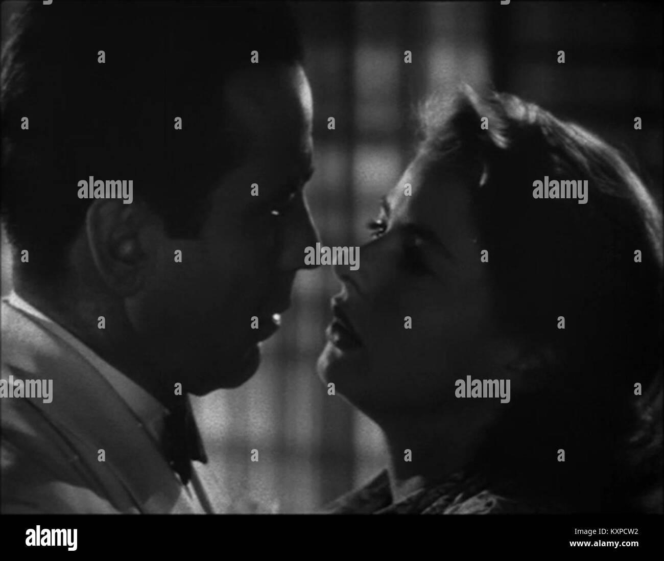 Casablanca, Trailer Screenshot - Stock Image