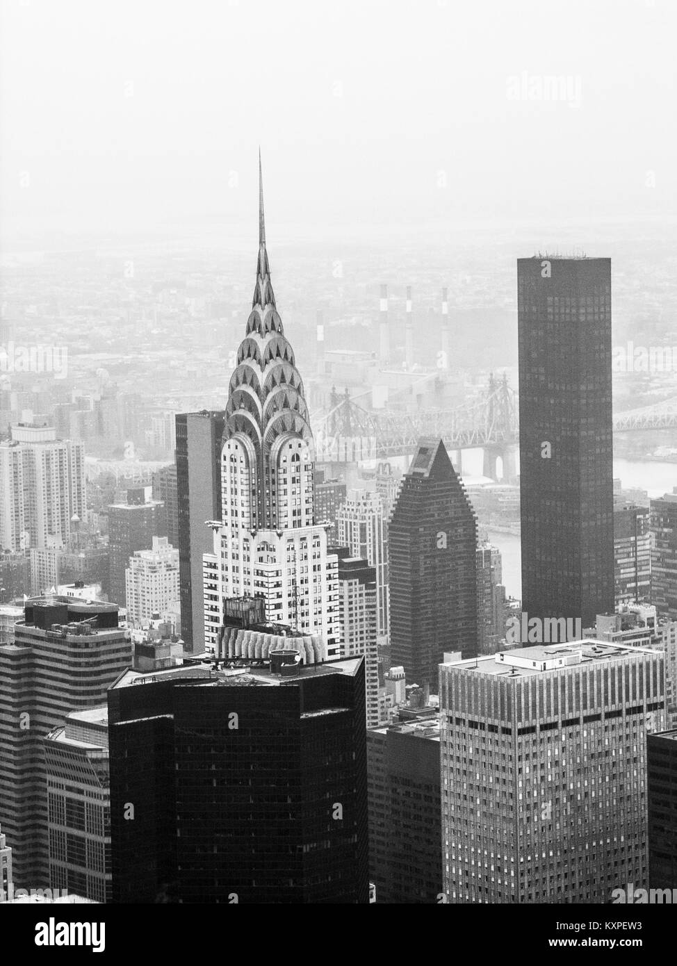 Black and white in New York Ray Boswell Stock Photo