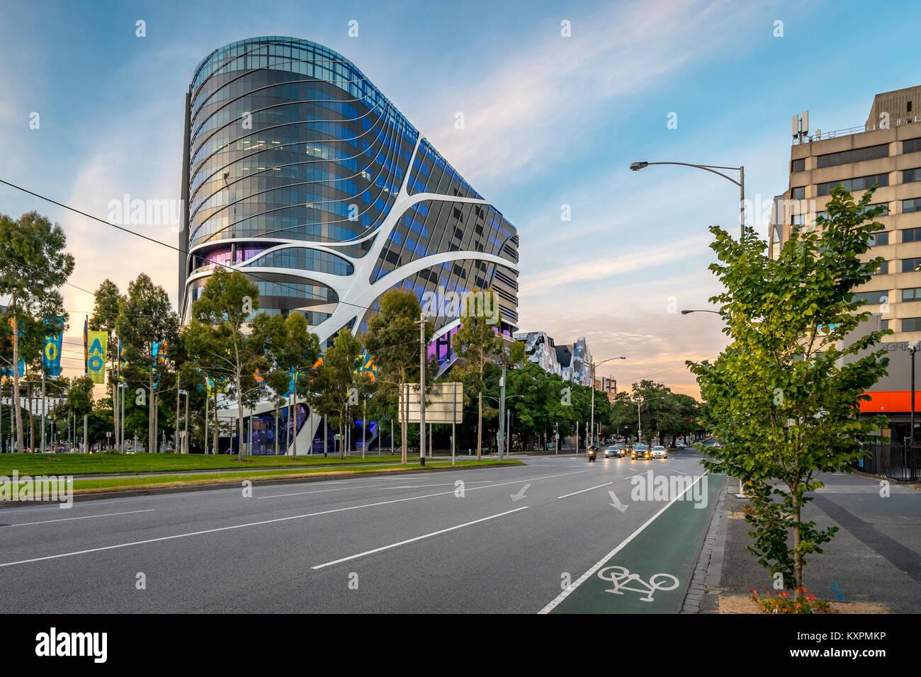 Peter MacCallum cancer centre in Melbourne, Australia - Stock Image