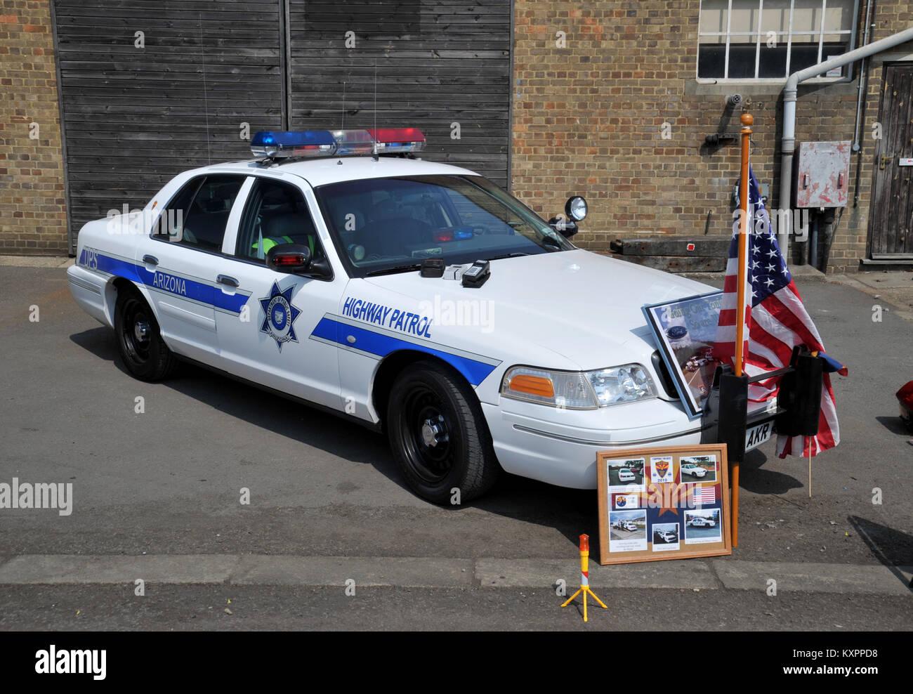 american police car stock photos american police car. Black Bedroom Furniture Sets. Home Design Ideas