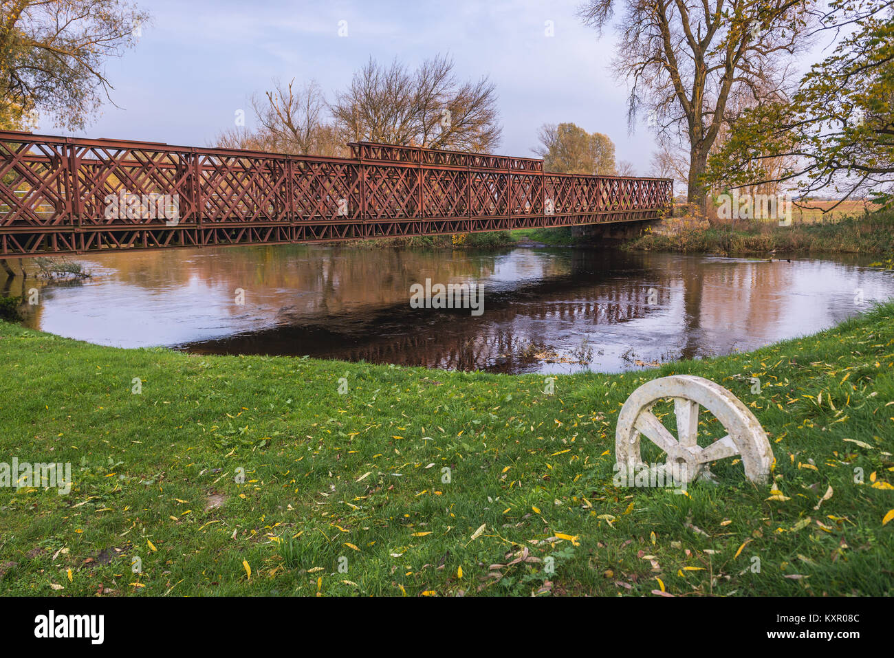 Memorial site of Battle of the Bzura River in Witkowice village, Sochaczew County in Masovian Voivodeship of Poland - Stock Image