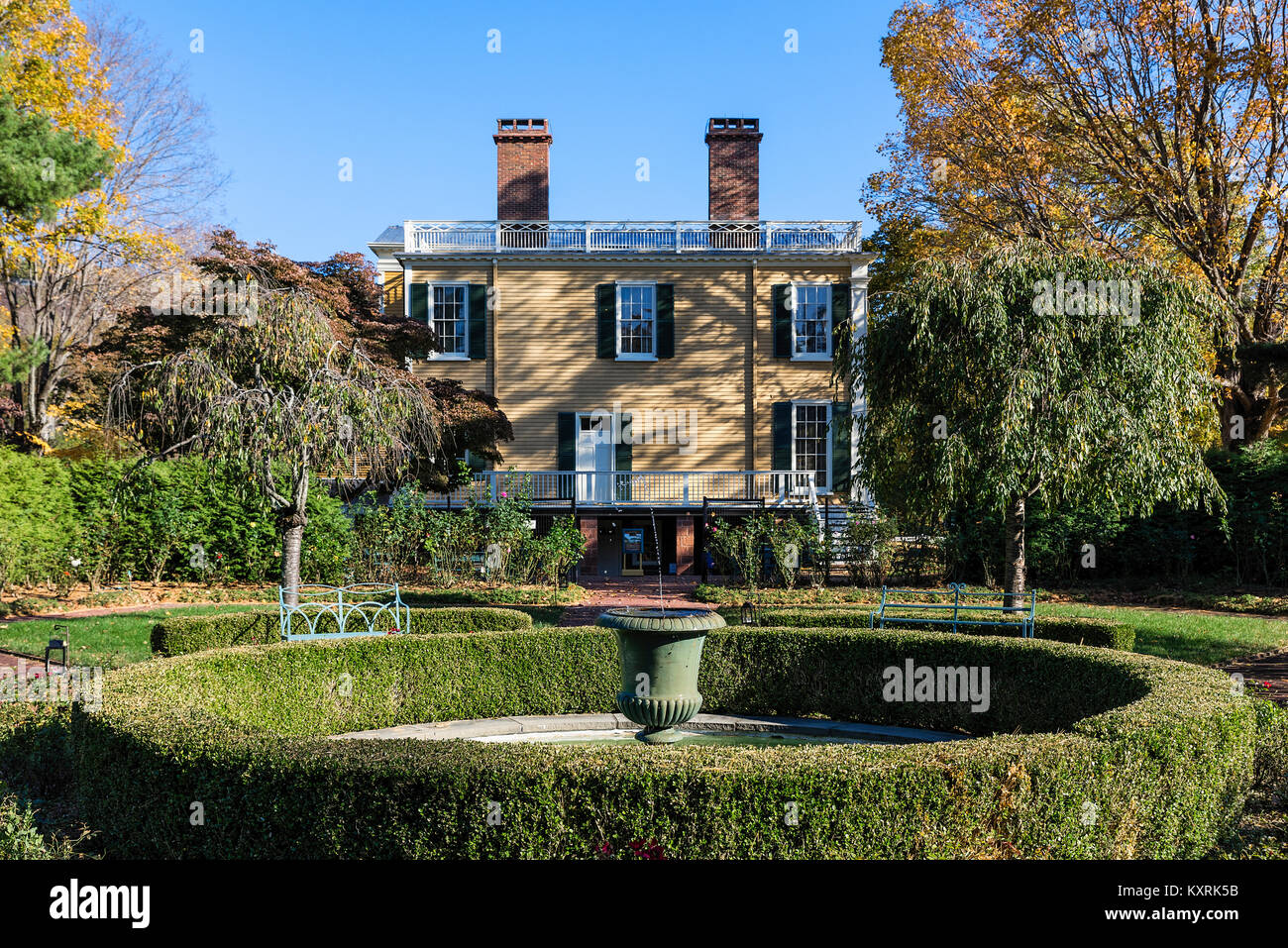 Boscobel House And Gardens, Garrison, New York, USA