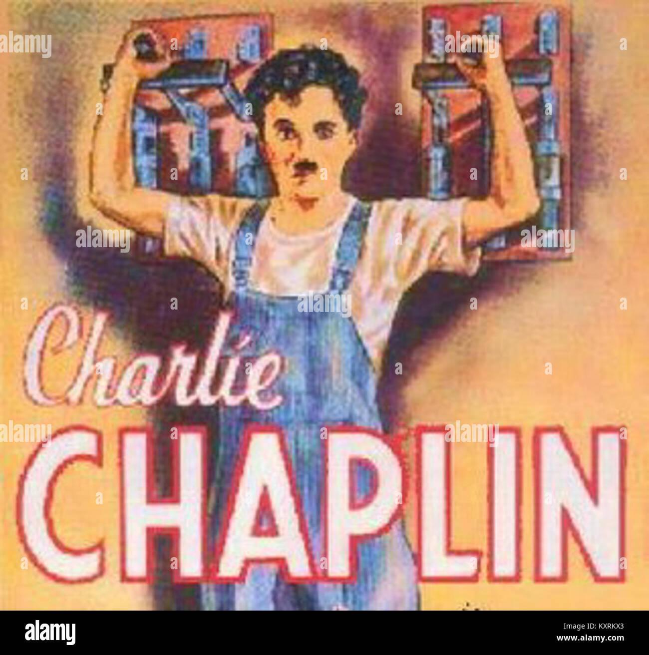 Charlie Chaplin Poster Stock Photos & Charlie Chaplin ...