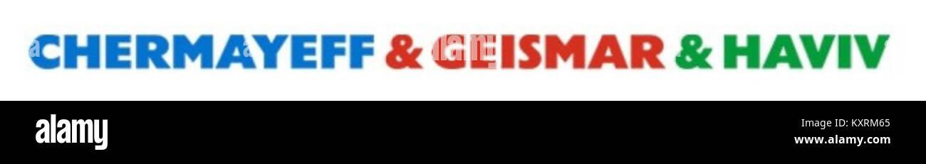 Chermayeff & Geismar & Haviv --- logo - Stock Image