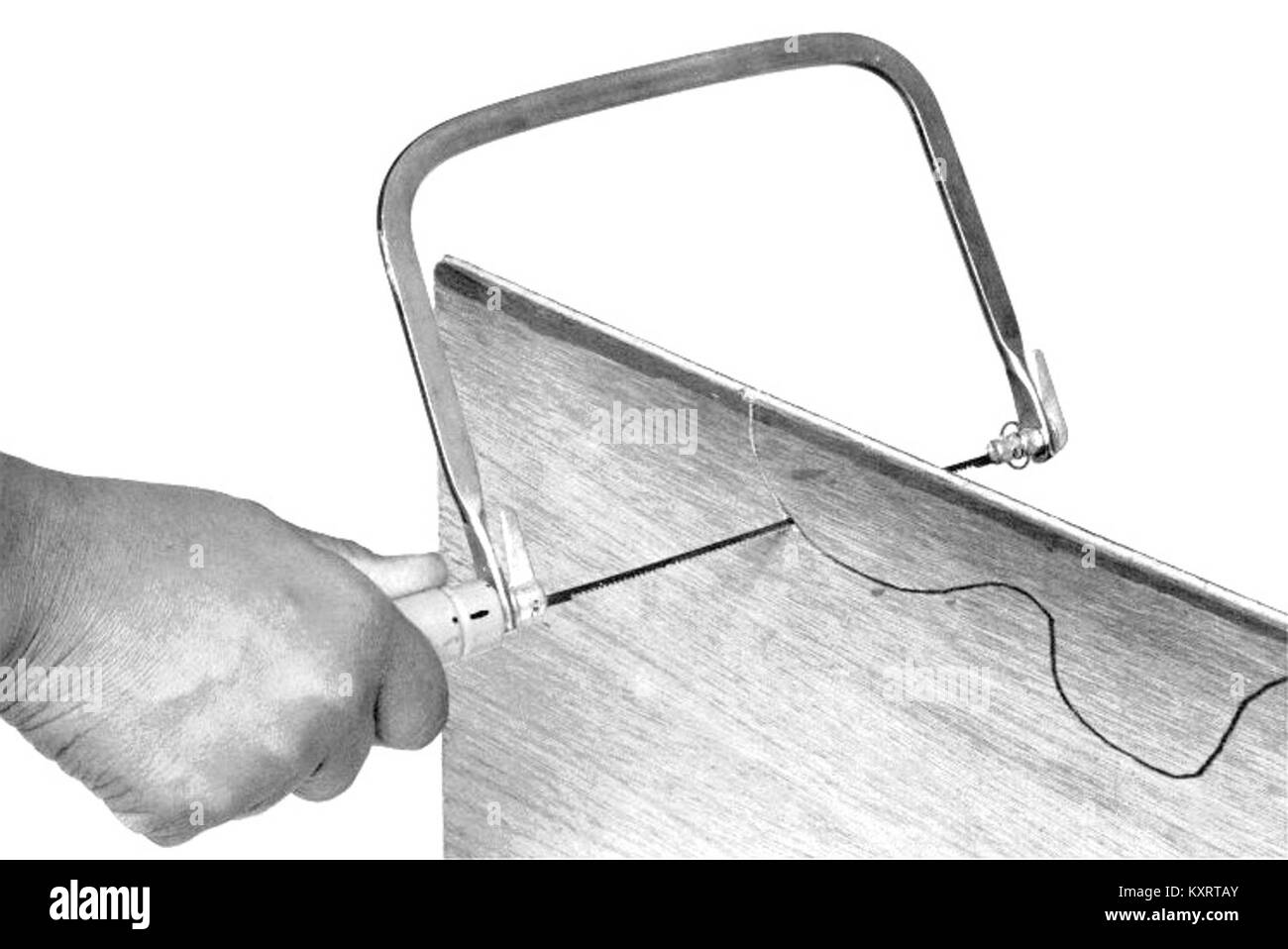Coping saw (PSF) - Stock Image