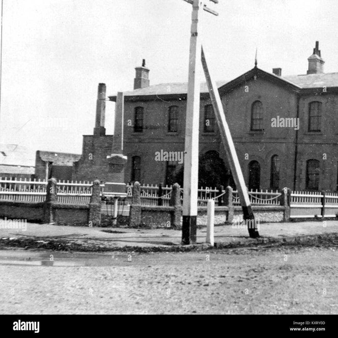 Customs House, Port MacDonnell State Library of South Australia PRG 280-1-38-28 - Stock Image