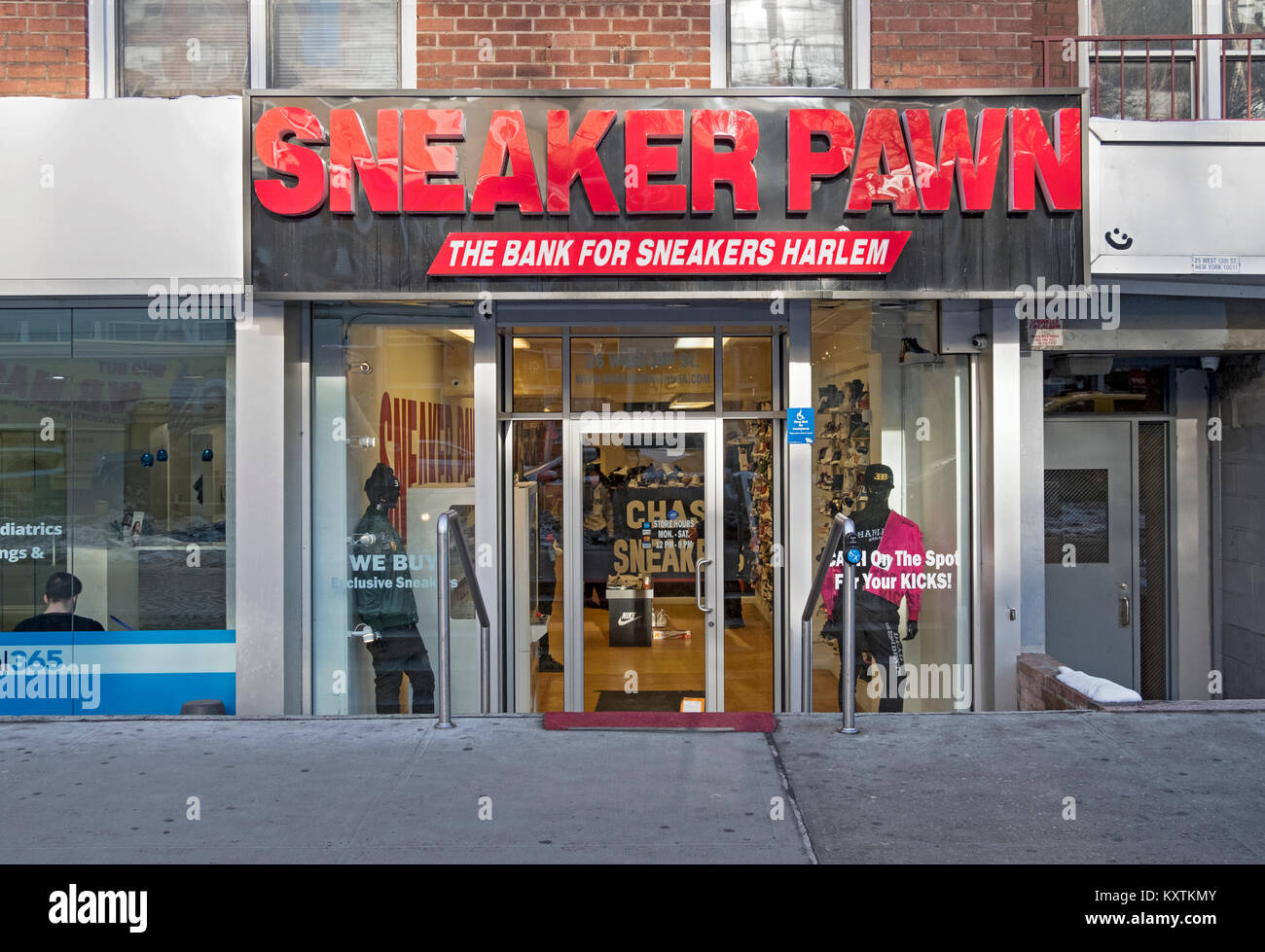 f0c89ae74d2dd Sneaker Pawn, a store on West 14th Street that buys and then sells ...