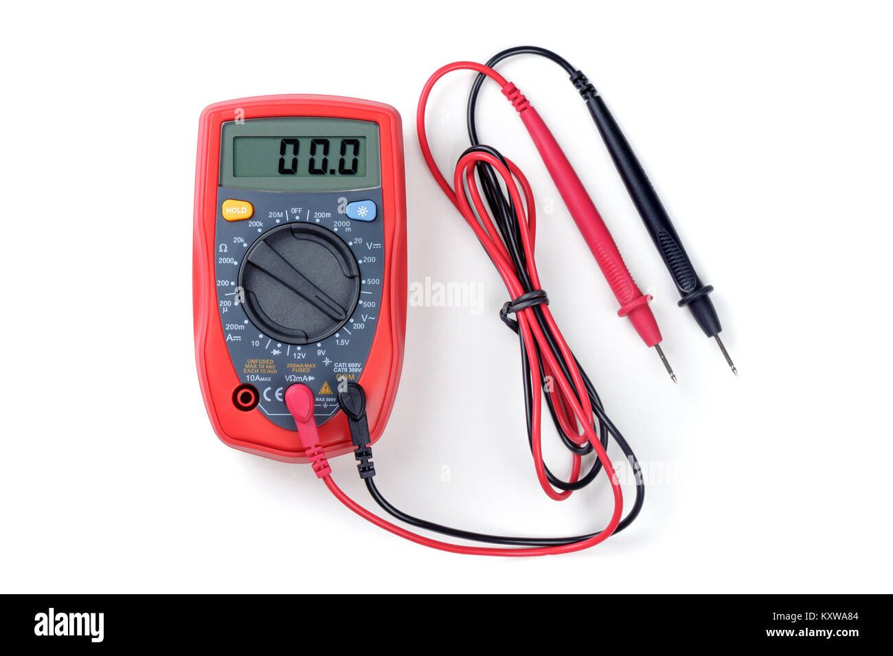 digital multimeter or multitester or Volt-Ohm meter, an electronic ...